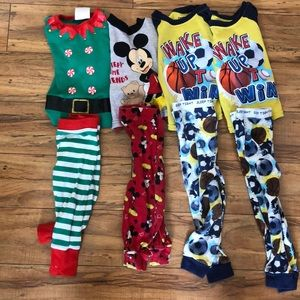 Other - 4 pairs of Toddler Pj's